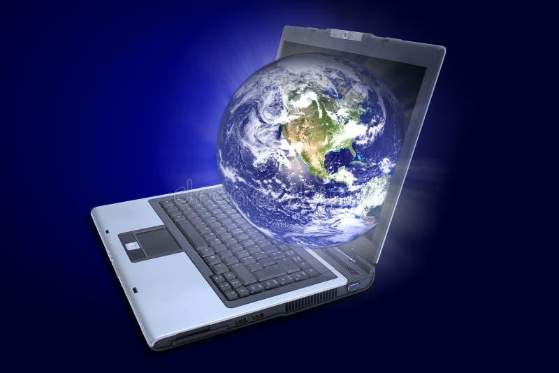 monde large de Web image libre de droits