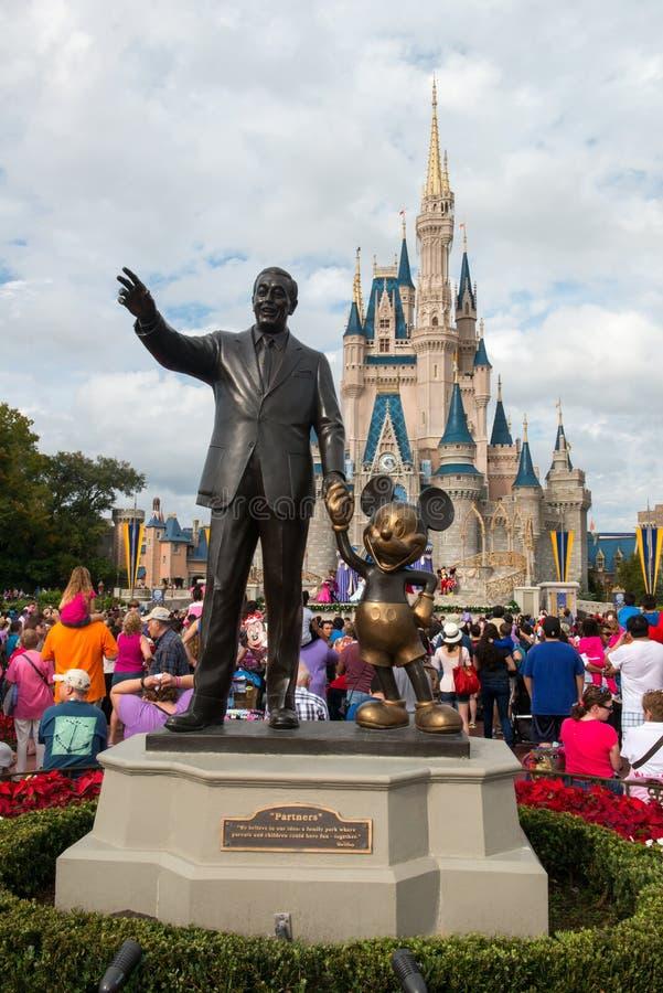 Monde Mickey Mouse Statue, Orlando Florida Travel de Disney image stock