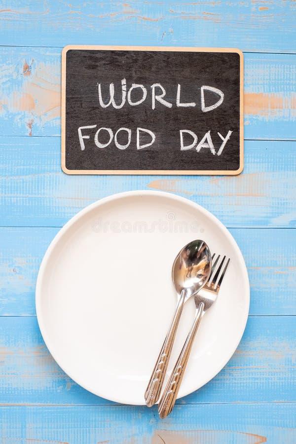 Monde nourriture jour concept 16 octobre images stock