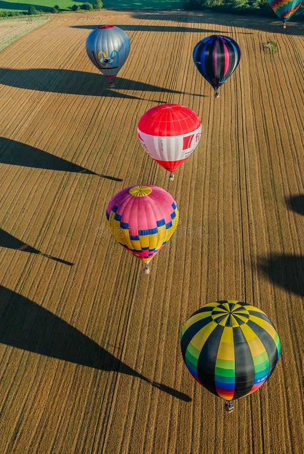 Mondial Hot Air Ballon Reunion In Lorraine France Editorial Stock Photo
