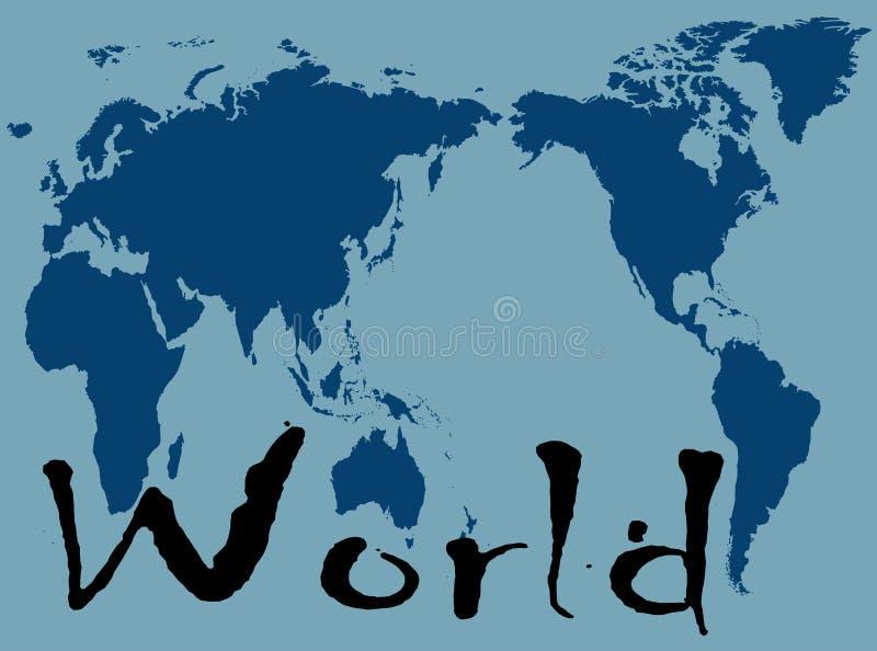 Mondo immagine stock