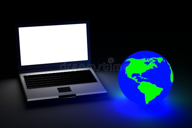Mondo dei computer fotografia stock libera da diritti