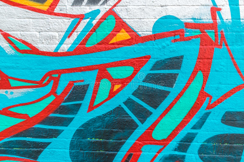 Mondo dei graffiti royalty illustrazione gratis
