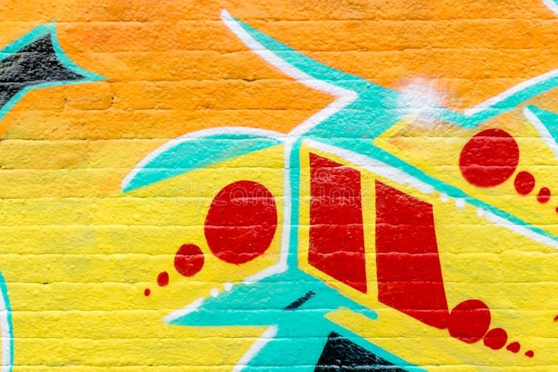 Mondo dei graffiti fotografia stock