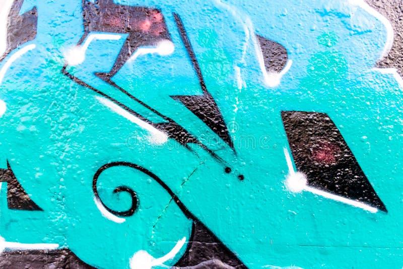 Mondo 12132016 dei graffiti illustrazione di stock