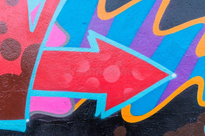Mondo dei graffiti illustrazione di stock