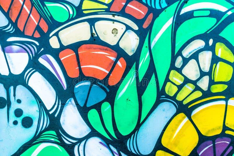 Mondo dei graffiti immagine stock