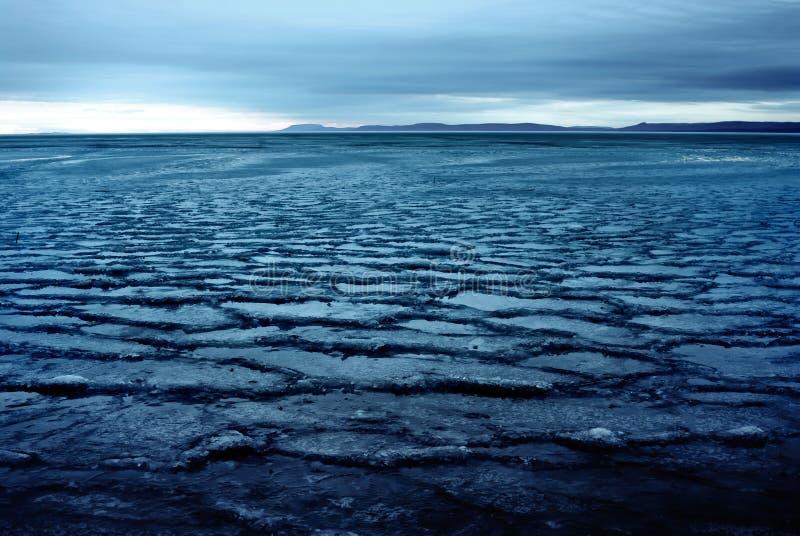 Mondo del ghiaccio fotografia stock