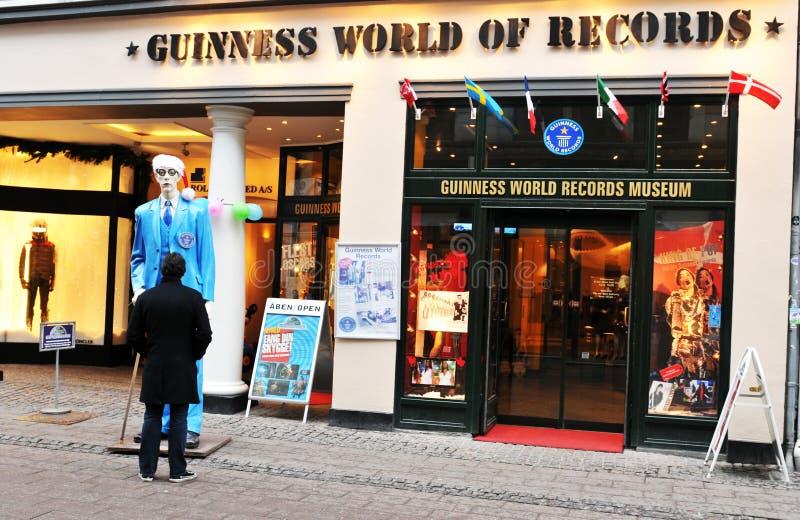 Mondo del Guinness dei record immagini stock