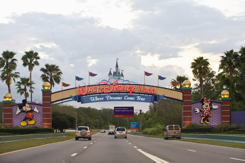 Mondo del Walt Disney immagine stock