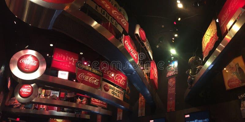 Mondo di coca-cola immagini stock libere da diritti