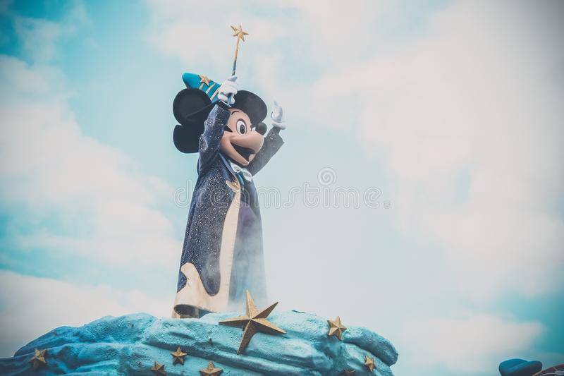 Mondo di Disney fotografie stock