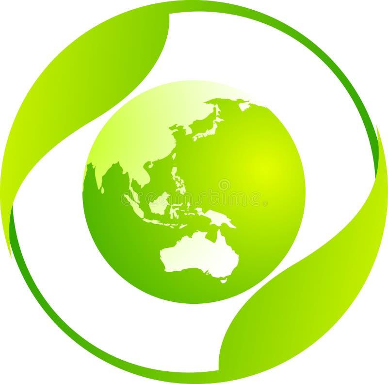Mondo di Eco illustrazione vettoriale