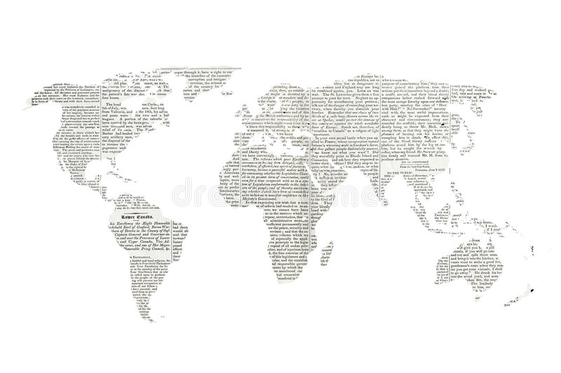 Mondo di notizie illustrazione vettoriale