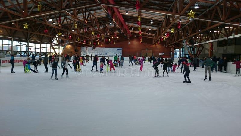 Mondo di pattinaggio su ghiaccio fotografia stock