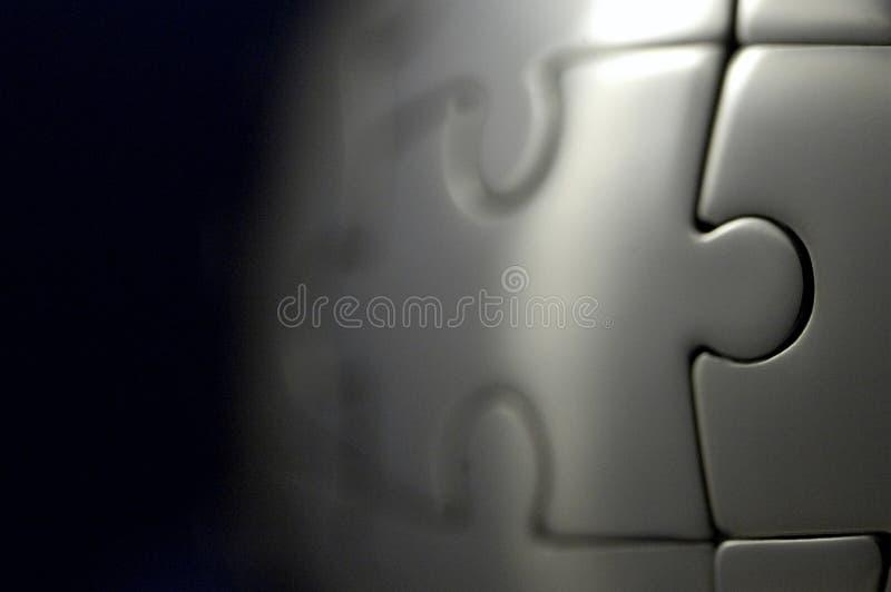 Mondo di puzzle immagini stock libere da diritti