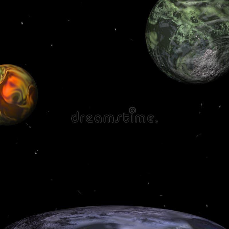 Mondo esterno illustrazione vettoriale