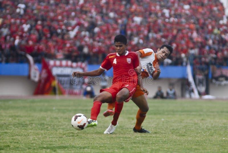 MONDO INDONESIANO IMPORTUNO DI CALCIO fotografia stock libera da diritti