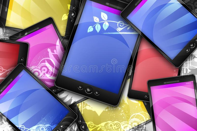Mondo mobile illustrazione vettoriale