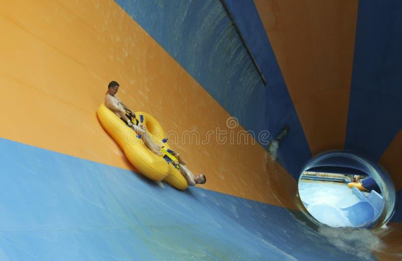 Mondo Monsoon Thrill Ride an tränken Stadt, Könige Island lizenzfreie stockfotos