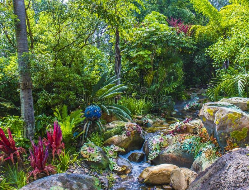 Mondo Orlando Florida Animal Kingdom Pandora di Disney fotografia stock libera da diritti