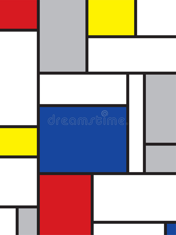 Mondrian inspiró arte