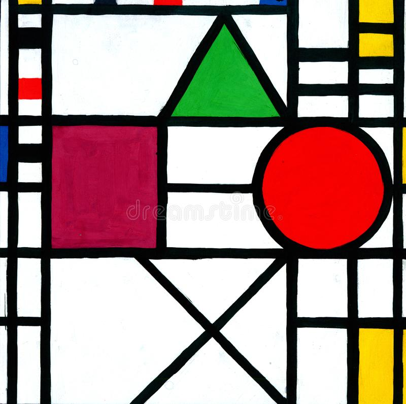 Free Mondrian Painting Neoplasticism Stock Photo - 104663540