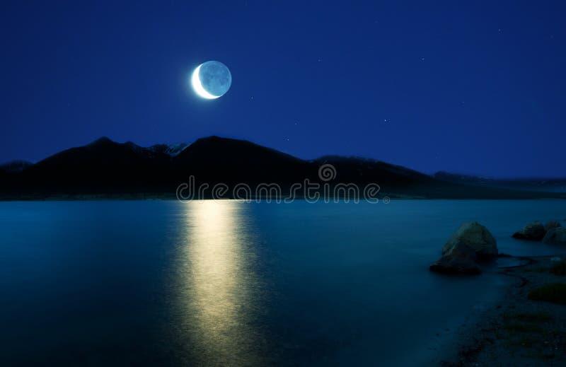Mondschein stockfoto