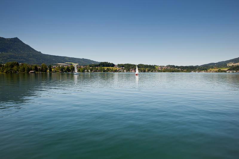Download Mondsee stock photo. Image of vacations, destinations - 25326654