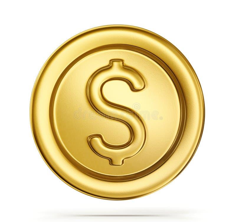 moneda stock de ilustración