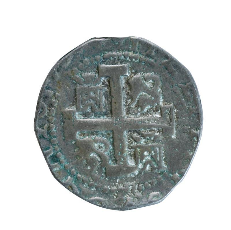 Moneda antigua foto de archivo libre de regalías