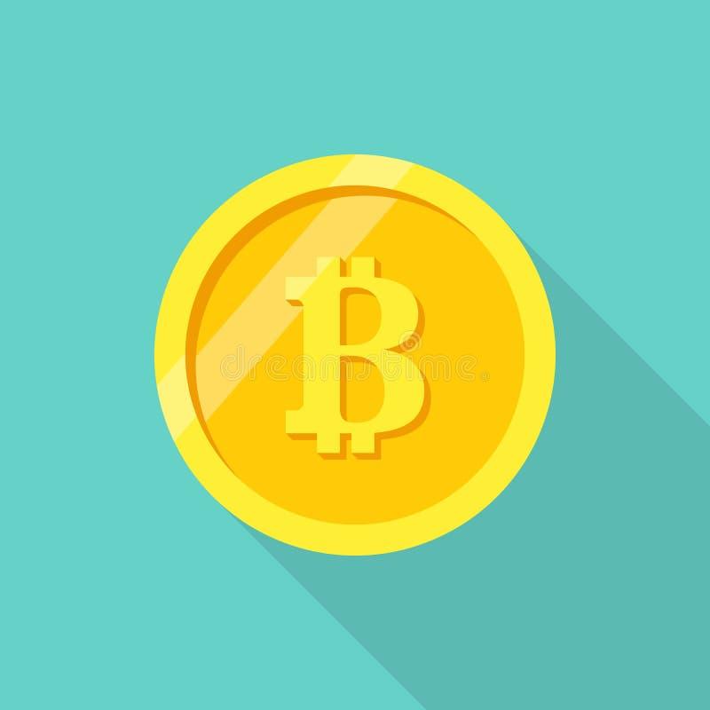 Moneda Bitcoin Moneda Crypto libre illustration