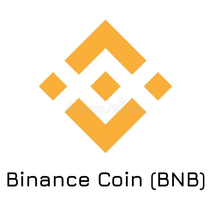 Moneda BNB de Binance Ejemplo co crypto del vector libre illustration
