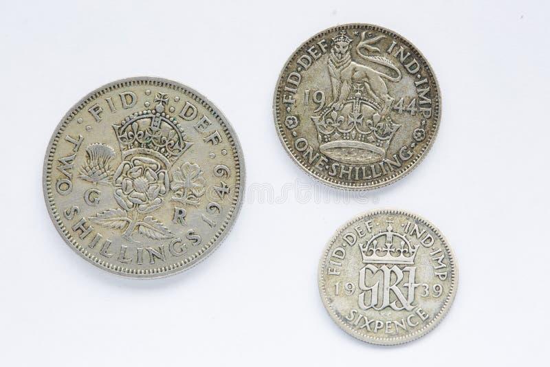 Moneda británica foto de archivo