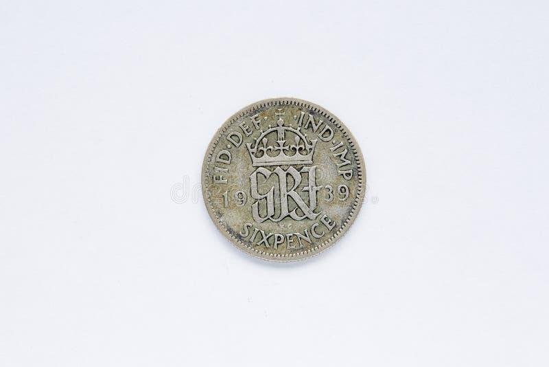 Moneda británica fotos de archivo libres de regalías