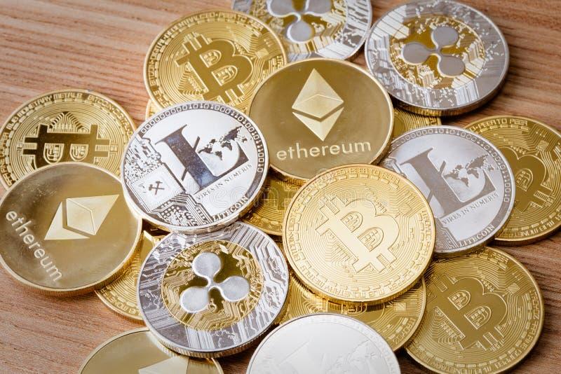 Moneda Crypto fotografía de archivo