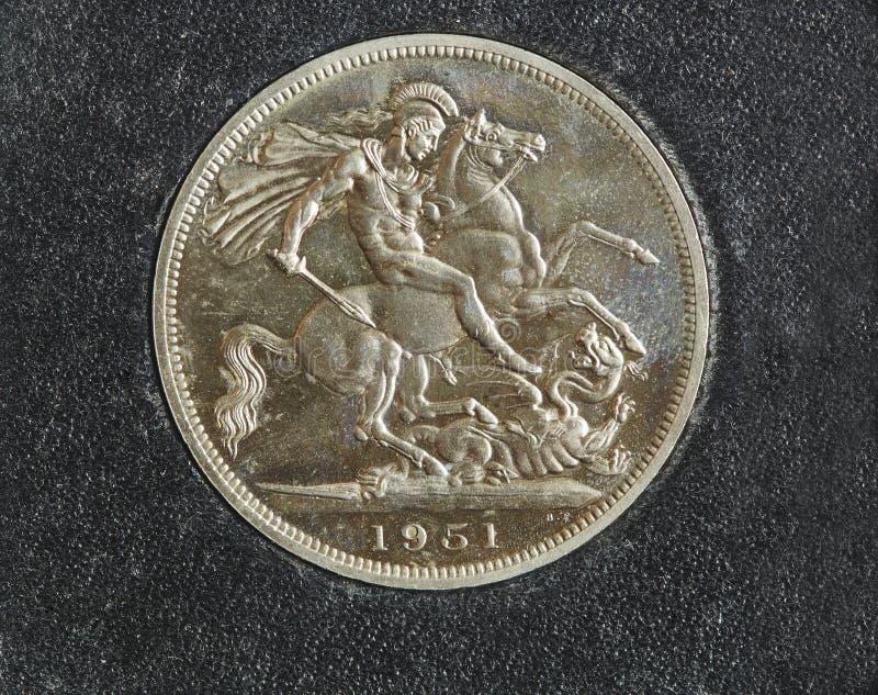 Moneda de Comemorative imagen de archivo libre de regalías