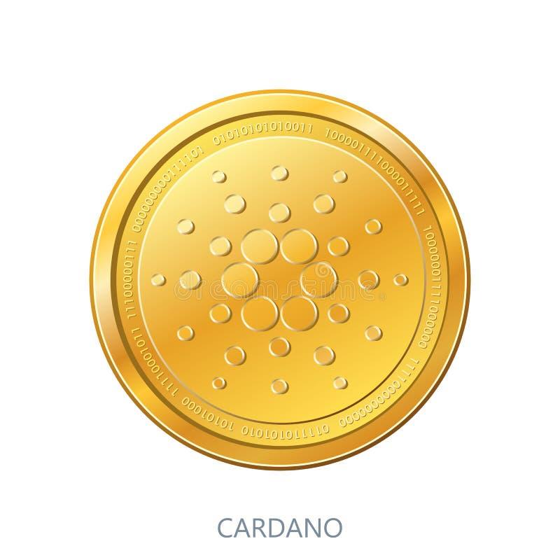 Moneda de Cryptocurrency Cardano libre illustration