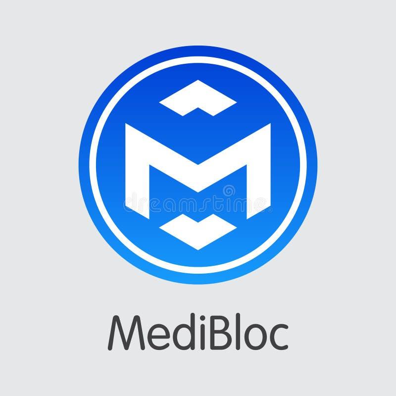 Moneda de Digitaces, Medibloc - MED Virtual Currency Icon libre illustration