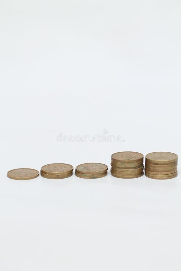 Moneda de la moneda, versión 16 imagen de archivo libre de regalías