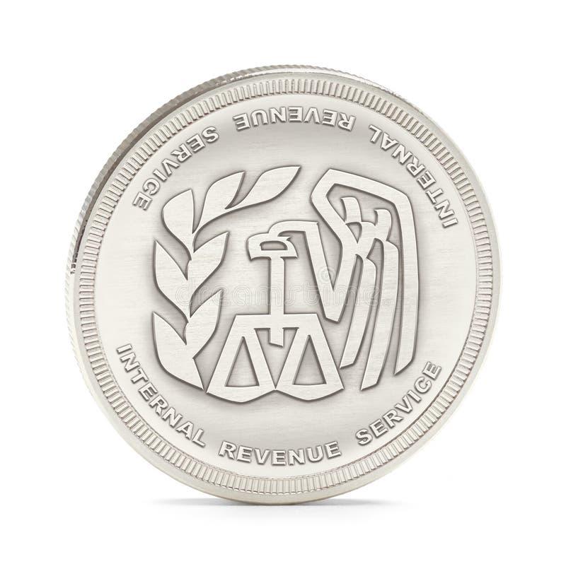 Moneda del IRS foto de archivo