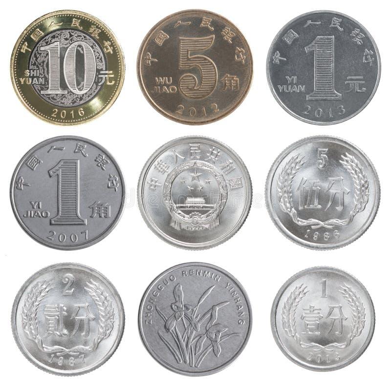 Moneda determinada del chino fotografía de archivo libre de regalías