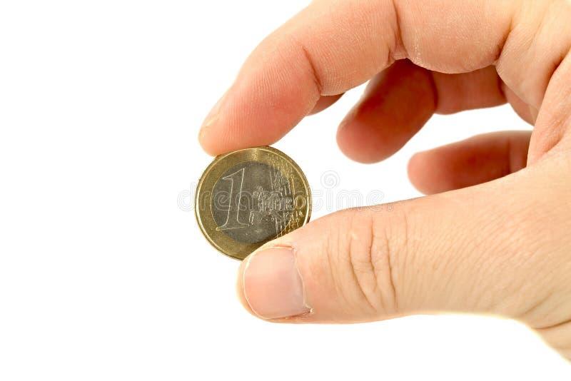Moneda euro imagen de archivo