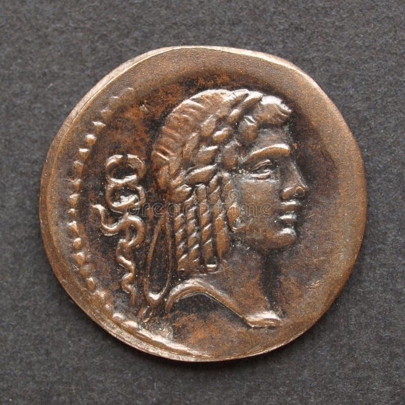 Moneda romana fotos de archivo