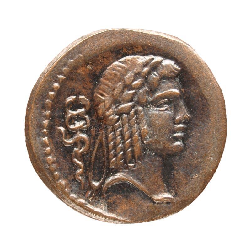 Moneda romana imágenes de archivo libres de regalías