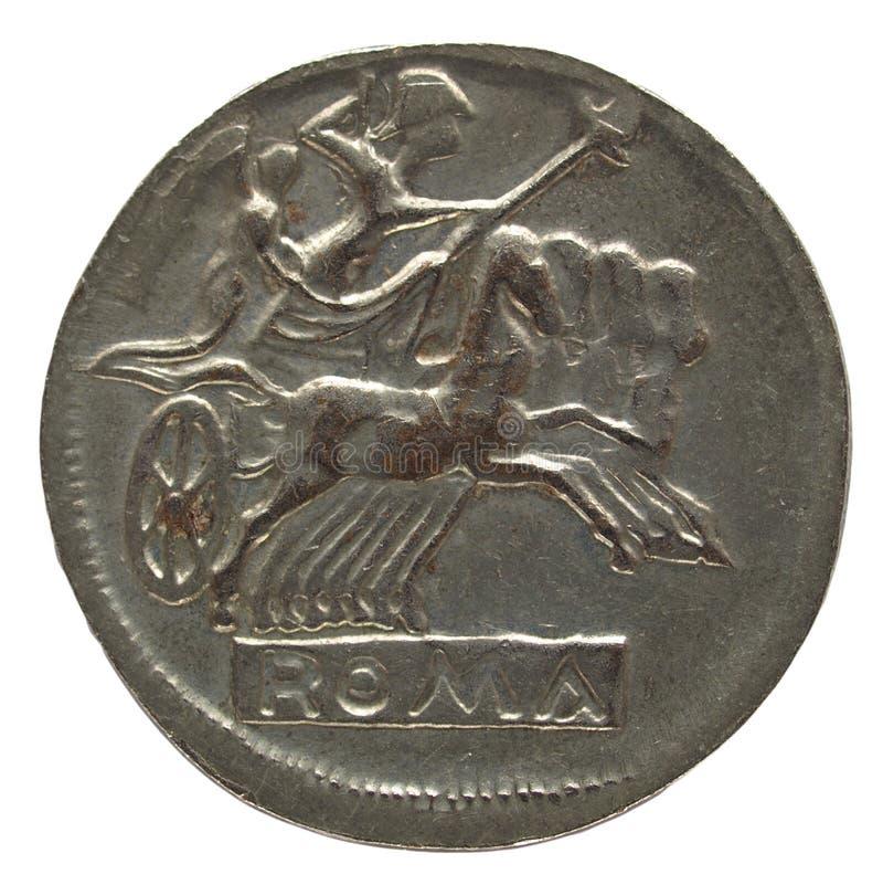 Moneda romana imagen de archivo libre de regalías