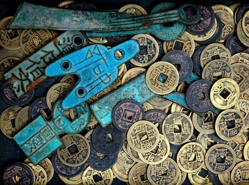 Moneda vieja imagen de archivo