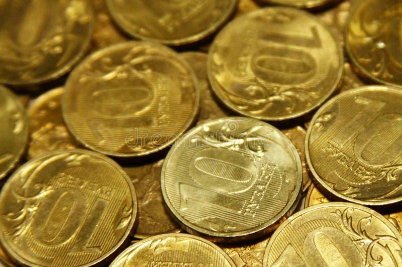 Monedas fotos de archivo