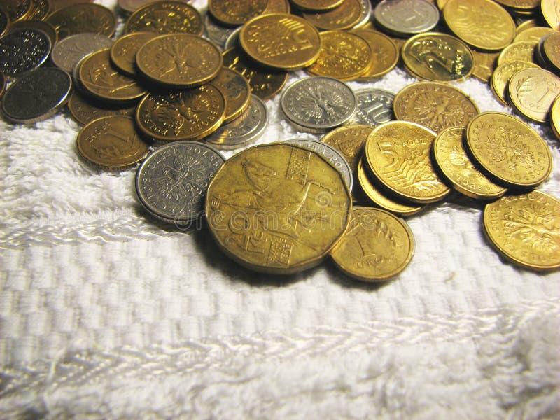 Monedas 4 fotografía de archivo