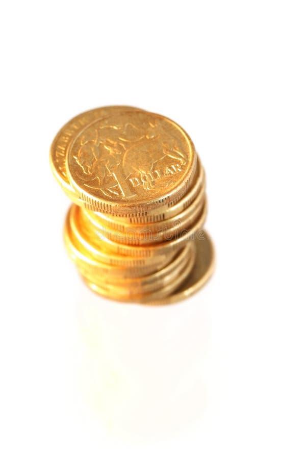 Monedas australianas fotos de archivo